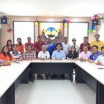 美里省会宁同乡会新届理事、青年团、妇女组及乐龄组阵容。
